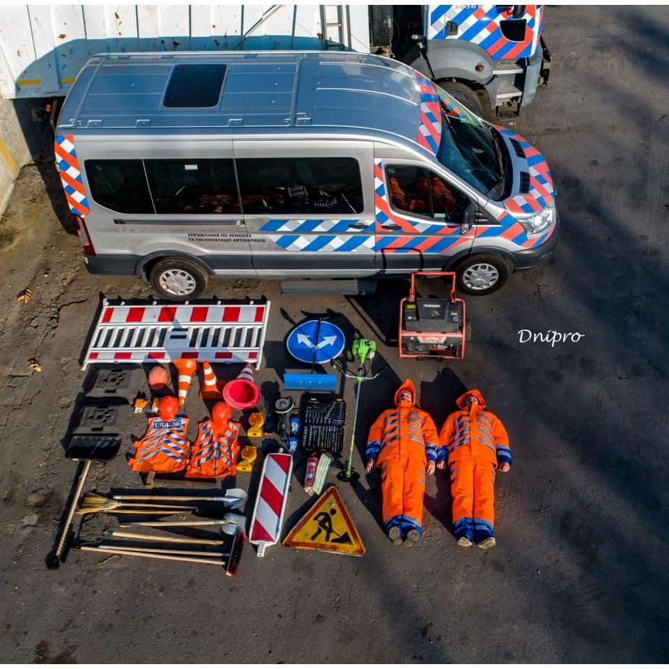 Днепровские коммунальщики приняли участие в мировом челлендже, - ФОТО, фото-3