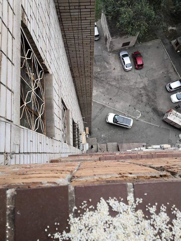 В Днепропетровской области котенок застрял на подоконнике 13-го этажа, - ФОТО , фото-3