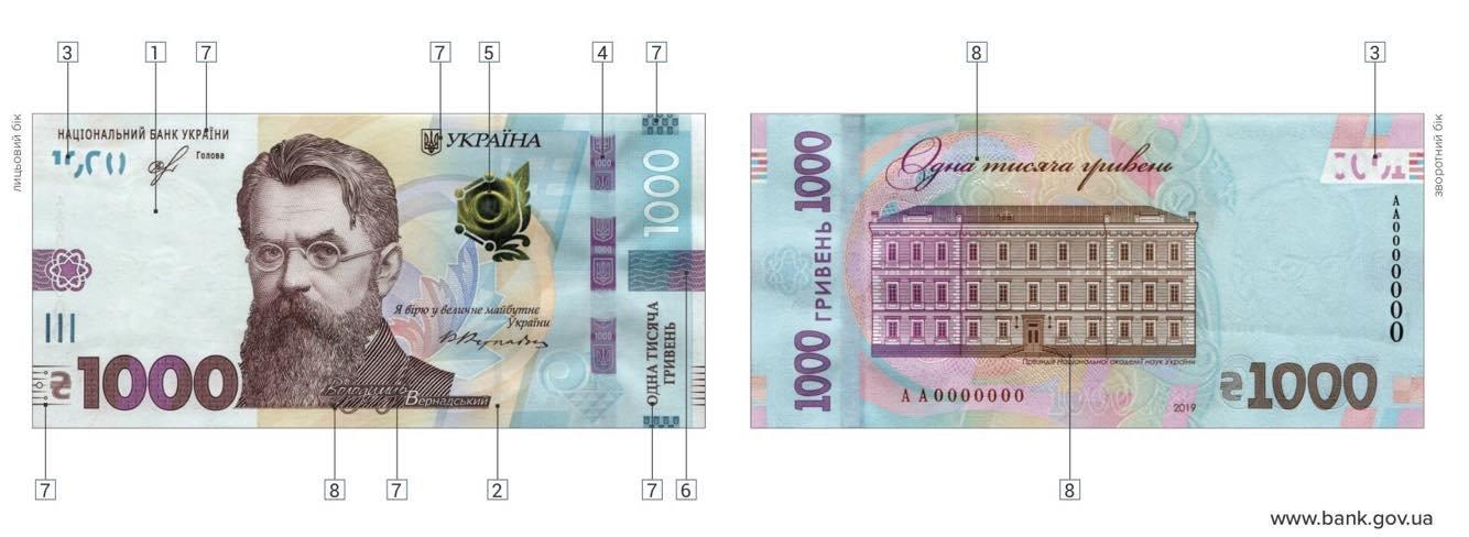 В Украине ввели в оборот 1000 гривен: как распознать подделку и реакция соцсетей, - ФОТО, фото-5
