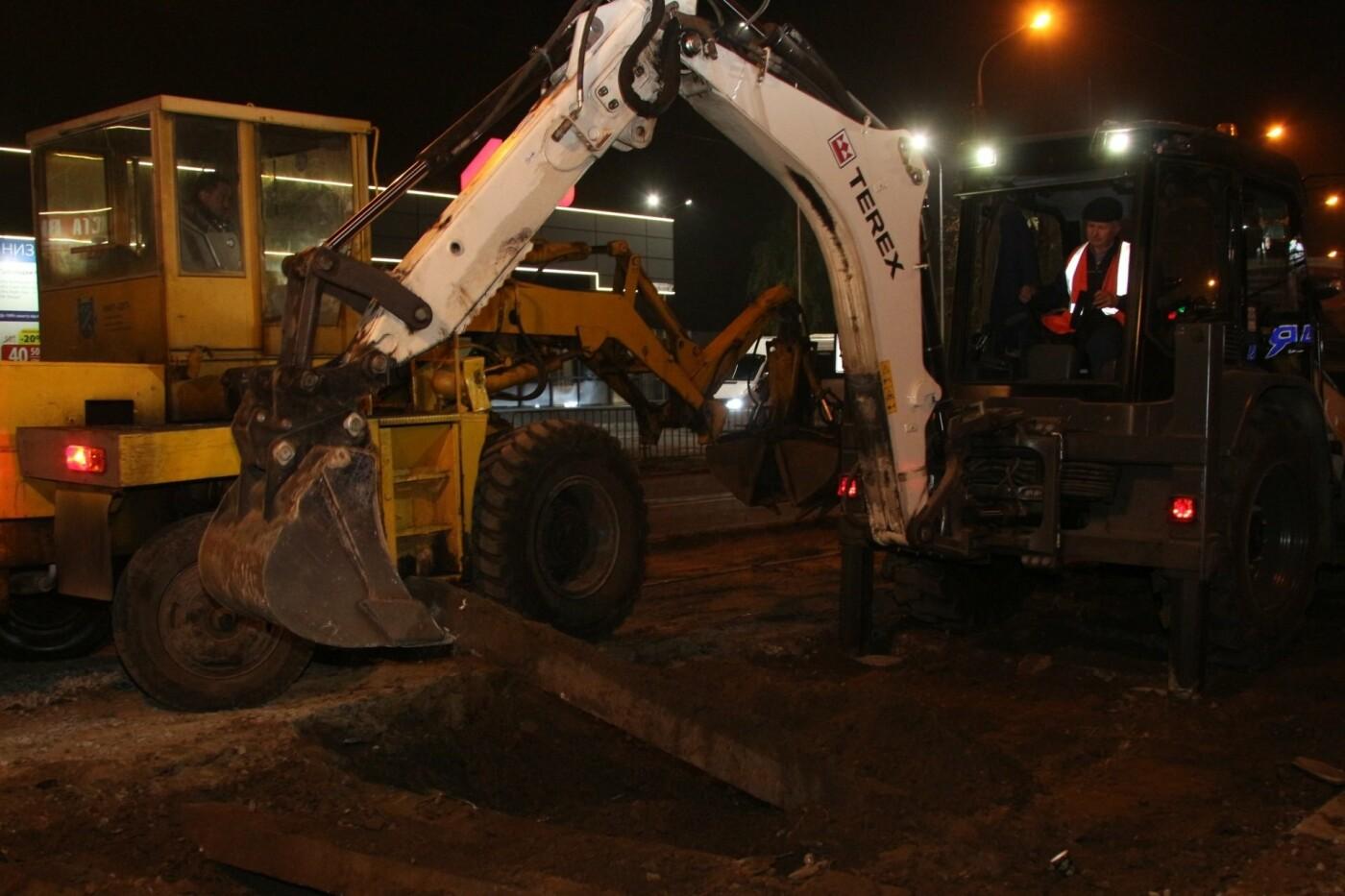 В Днепре ремонтируют аварийный участок трамвайной колеи, - ФОТО, фото-2