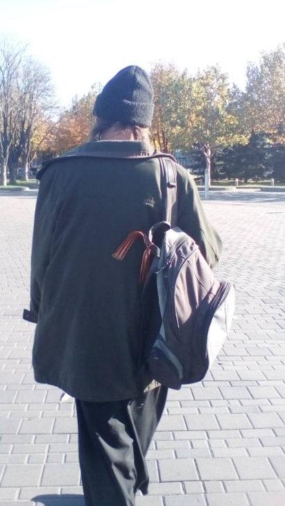 На Днепропетровщине задержали священника с георгиевской ленточкой, - ФОТО, ВИДЕО, фото-1
