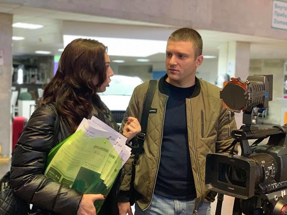 Сегодня из Днепра дети переселенцев и погибших бойцов АТО отправились в Литву на обучение, - ФОТО, фото-5