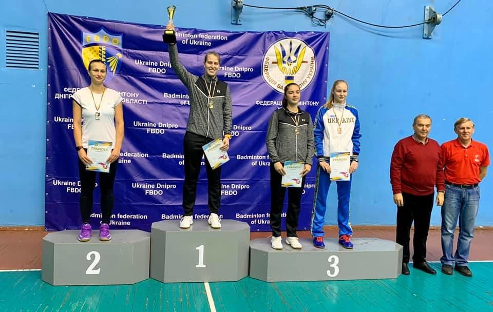 Спортсмены Днепропетровщины завоевали более 10 медалей на чемпионате Украины по бадминтону, - ФОТО, фото-2