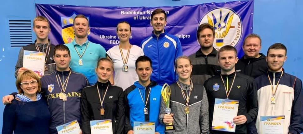 Спортсмены Днепропетровщины завоевали более 10 медалей на чемпионате Украины по бадминтону, - ФОТО, фото-1