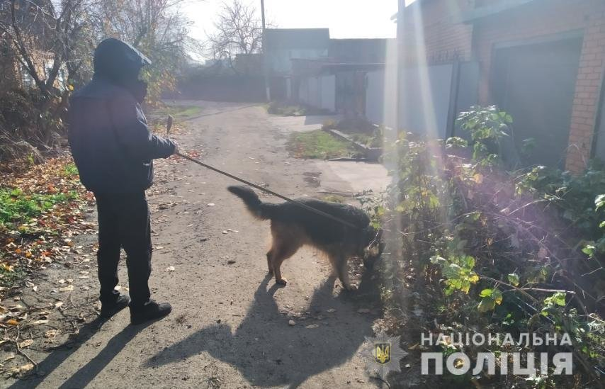 Под Днепром служебная собака помогла найти мужчину, который ограбил аптеку и угрожал фармацевту ножом, - ФОТО, фото-2