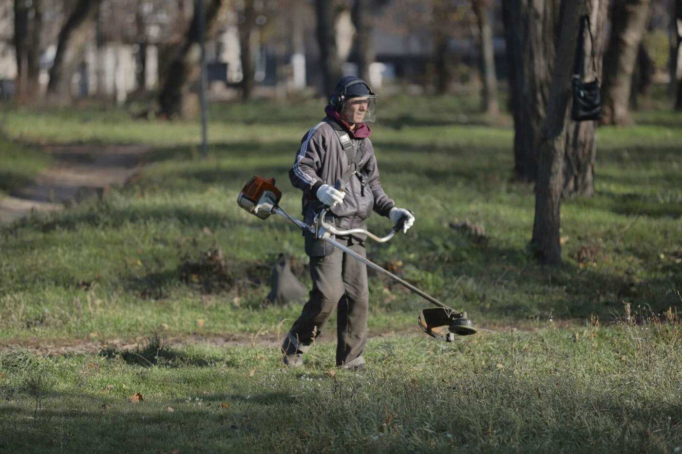 В Днепре начали убирать парки неплательщики алиментов, - ФОТО, фото-4