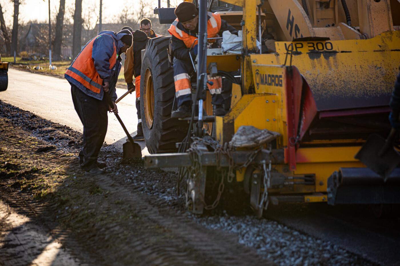 На Днепропетровщине продолжают ремонт дорог местного значения, - ФОТО, фото-2