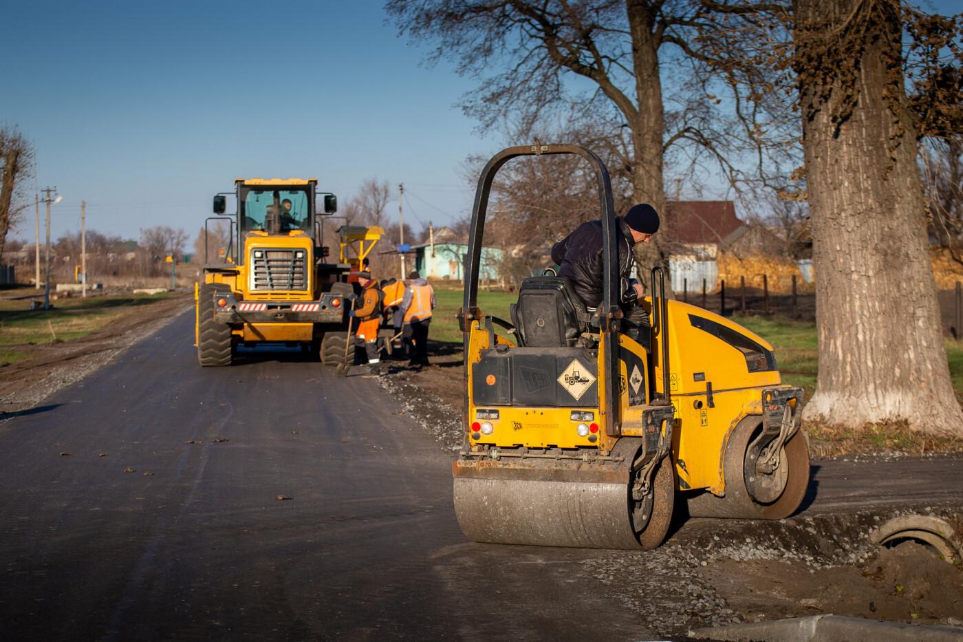 На Днепропетровщине продолжают ремонт дорог местного значения, - ФОТО, фото-4