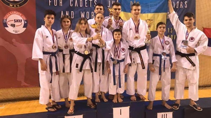 Днепровские спортсмены стали чемпионами мира по каратэ WKC, - ФОТО, фото-1