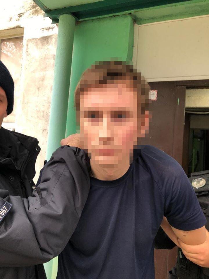 В Днепре задержали подозреваемого в нападении на женщин на Калиновой, - ФОТО, ВИДЕО ЗАДЕРЖАНИЯ, фото-1