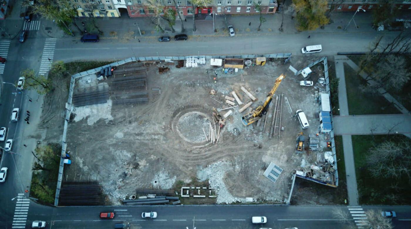 Как проходит строительство метро в Днепре: вид сверху, - ФОТО, фото-9