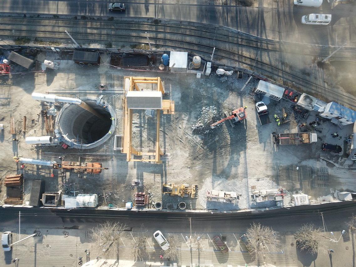 Как проходит строительство метро в Днепре: вид сверху, - ФОТО, фото-3