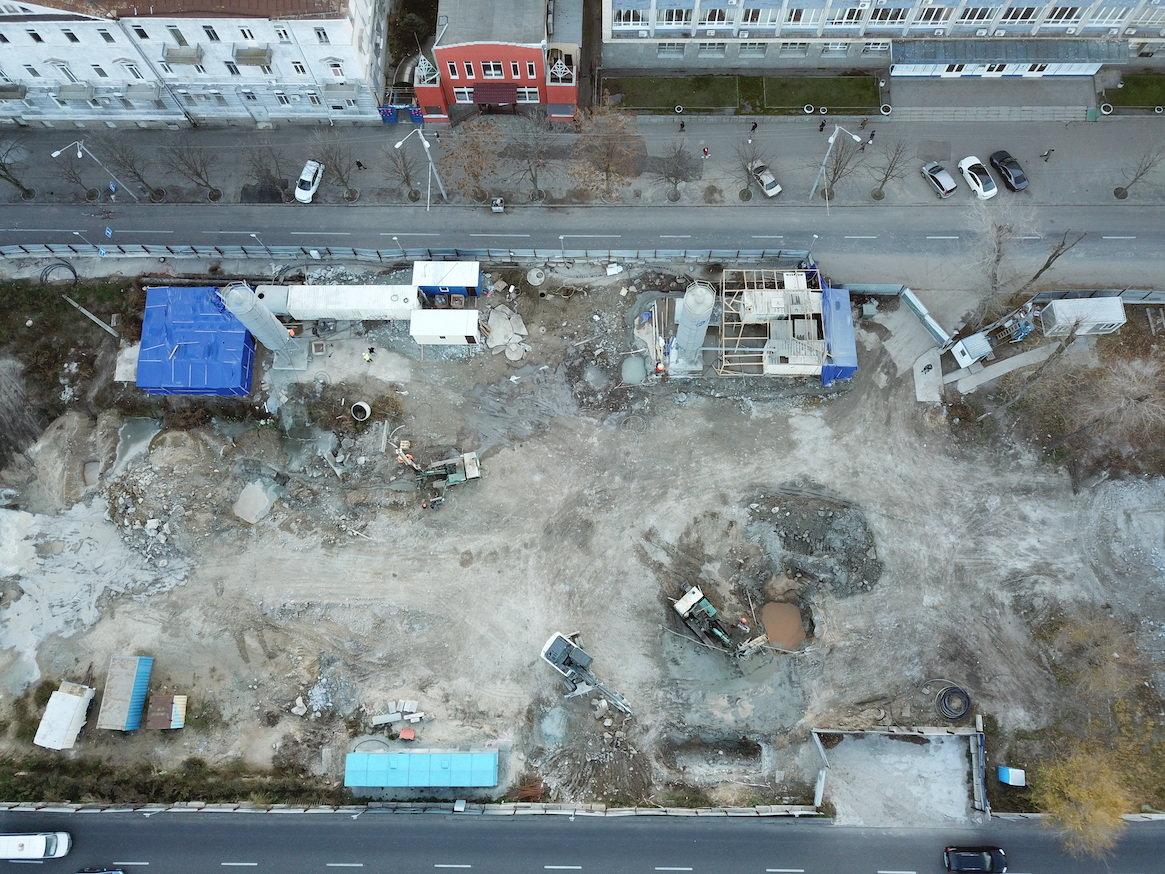 Как проходит строительство метро в Днепре: вид сверху, - ФОТО, фото-8