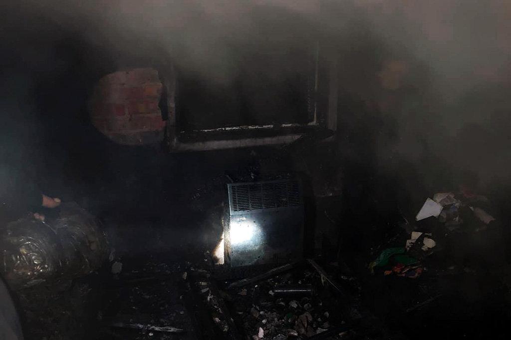 В Днепре на пожаре погиб мужчина, - ФОТО, фото-1