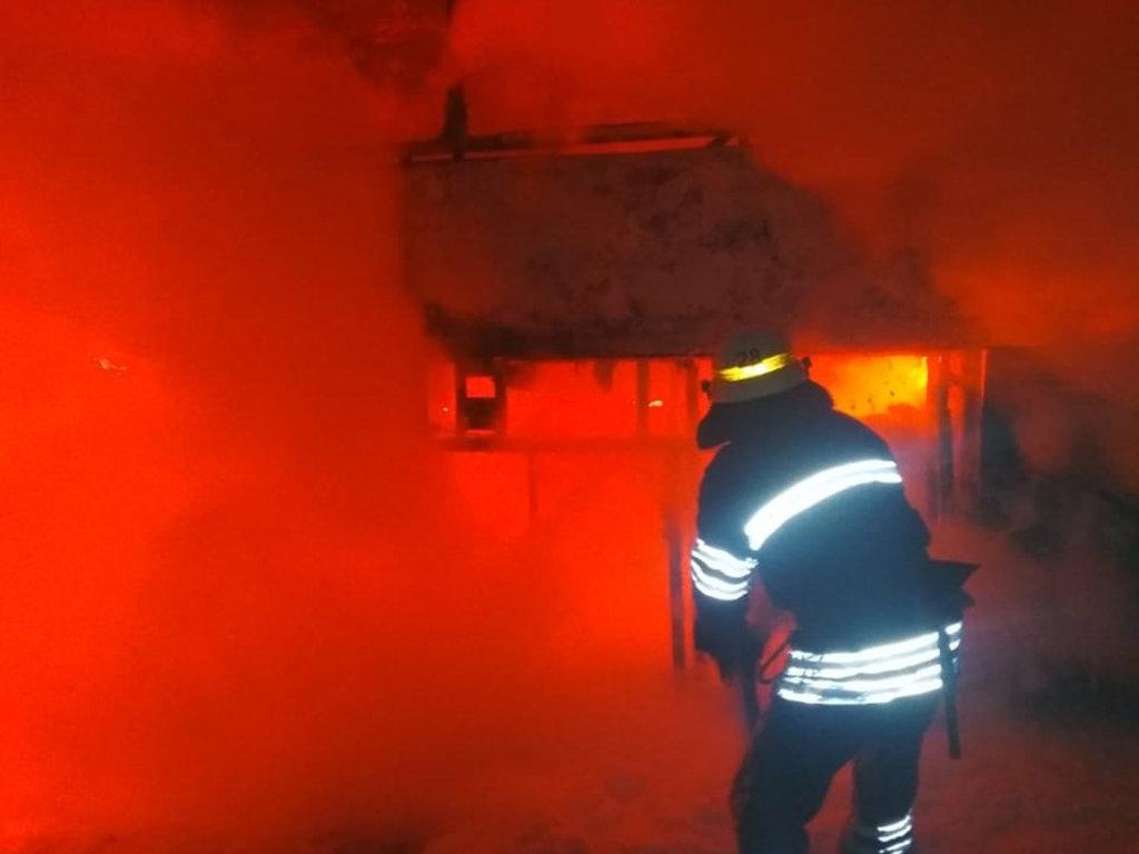 На Днепропетровщине загорелся пассажирский автобус, - ФОТО, фото-2