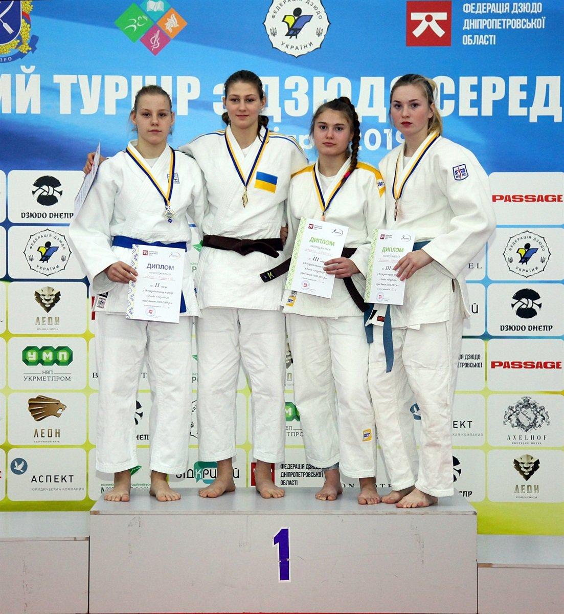 Днепровские юные спортсменки завоевали семь наград на Всеукраинском турнире по дзюдо, - ФОТО, фото-2