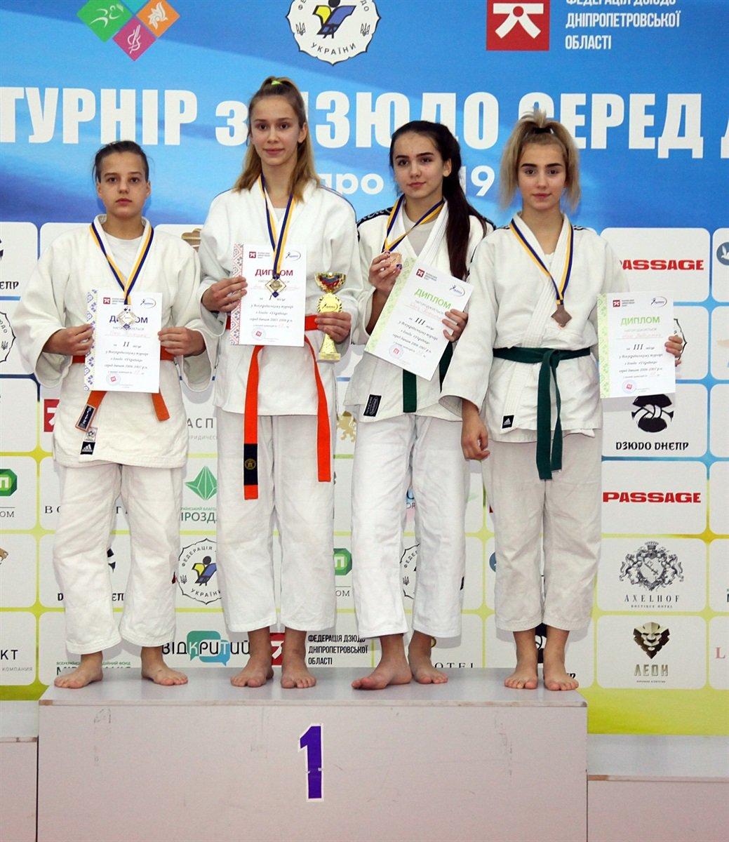 Днепровские юные спортсменки завоевали семь наград на Всеукраинском турнире по дзюдо, - ФОТО, фото-3