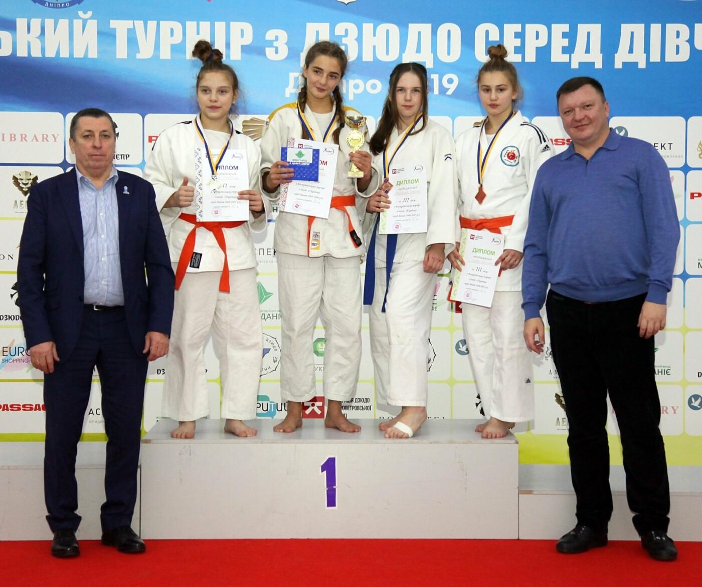 Днепровские юные спортсменки завоевали семь наград на Всеукраинском турнире по дзюдо, - ФОТО, фото-4