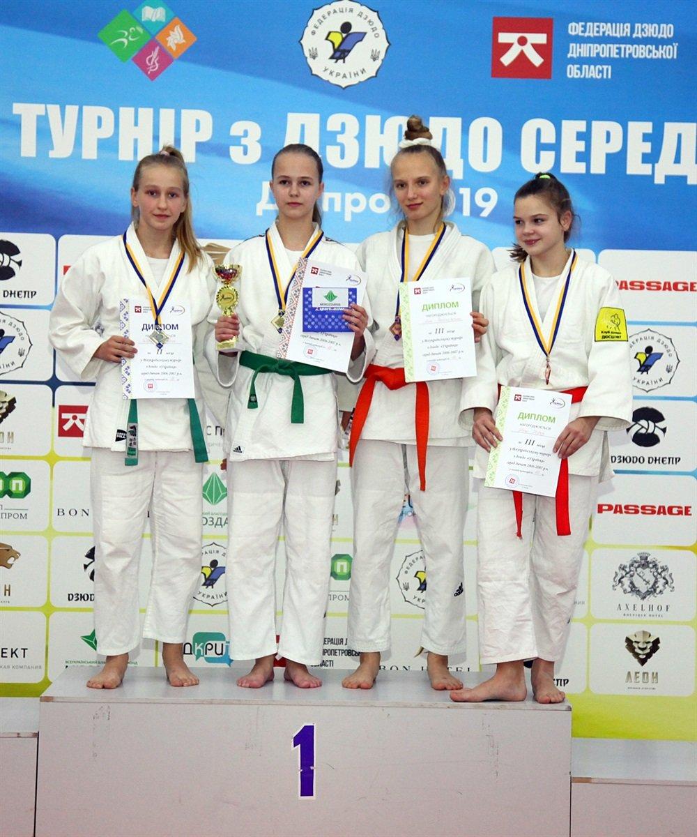 Днепровские юные спортсменки завоевали семь наград на Всеукраинском турнире по дзюдо, - ФОТО, фото-5