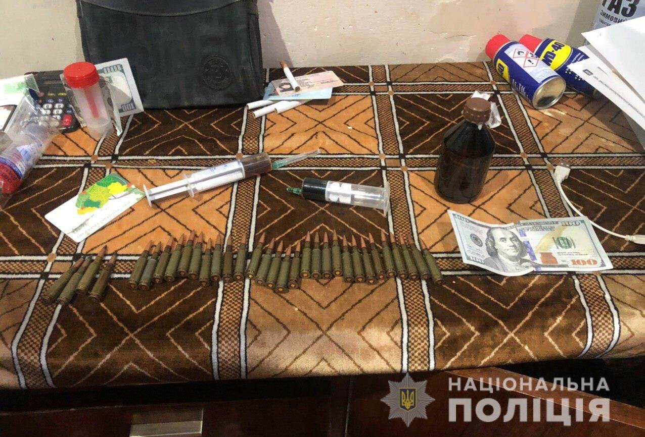 Изобилие наркотиков и боеприпасы: под Днепром у мужчины нашли много запрещенных вещей, - ФОТО, фото-1