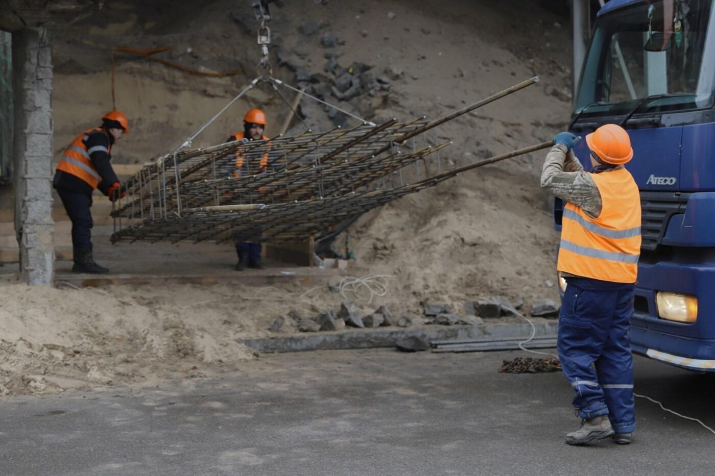 В Днепре ремонтируют аварийный путепровод, - ФОТО, фото-4