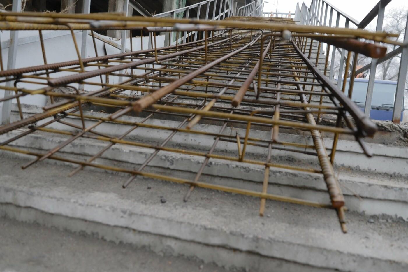 В Днепре ремонтируют аварийный путепровод, - ФОТО, фото-6