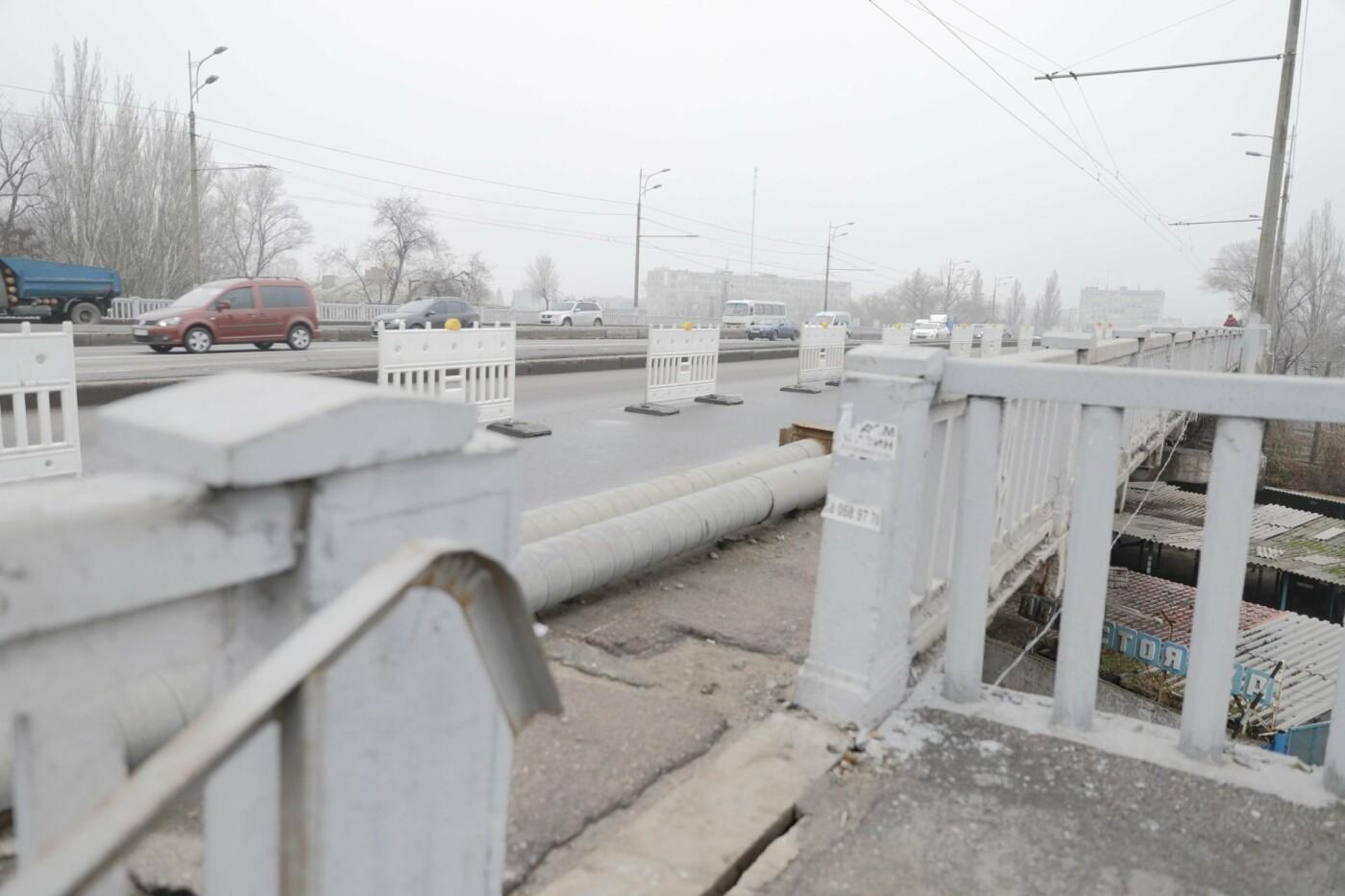 В Днепре ремонтируют аварийный путепровод, - ФОТО, фото-8