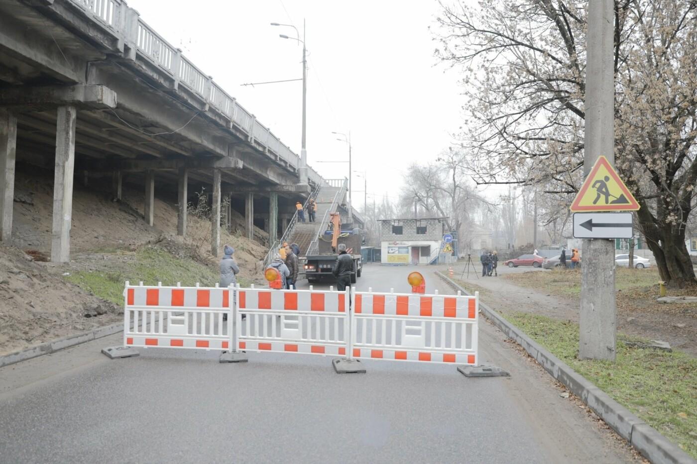 В Днепре ремонтируют аварийный путепровод, - ФОТО, фото-11