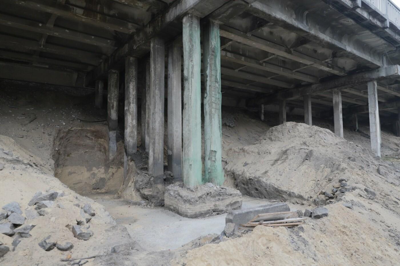 В Днепре ремонтируют аварийный путепровод, - ФОТО, фото-12