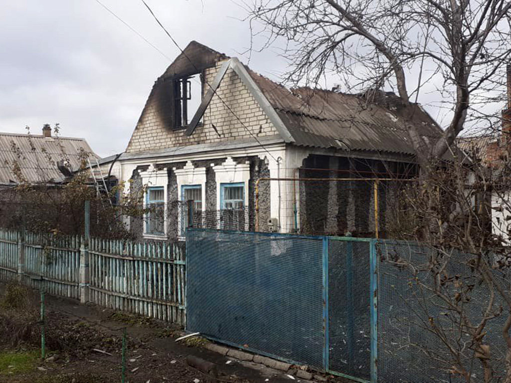 На Днепропетровщине произошел пожар: пострадали мужчина с ребенком, - ФОТО, фото-2