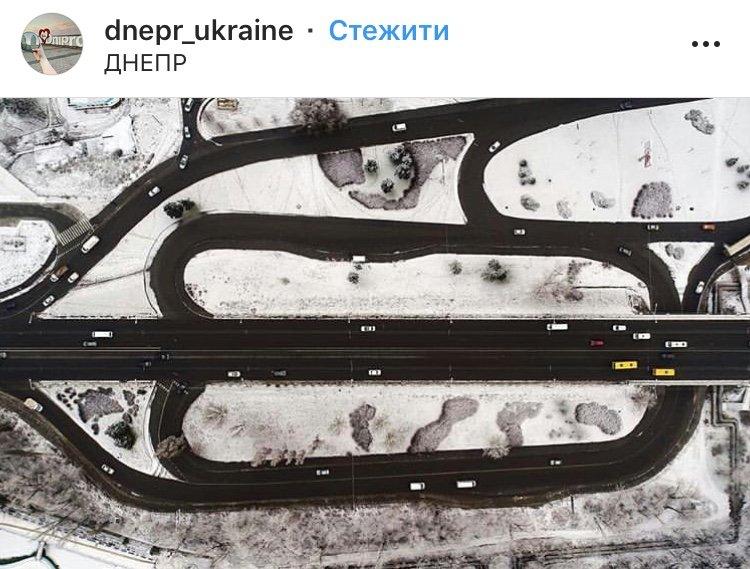 ТОП фотографий первого снега в Днепре от горожан, фото-11