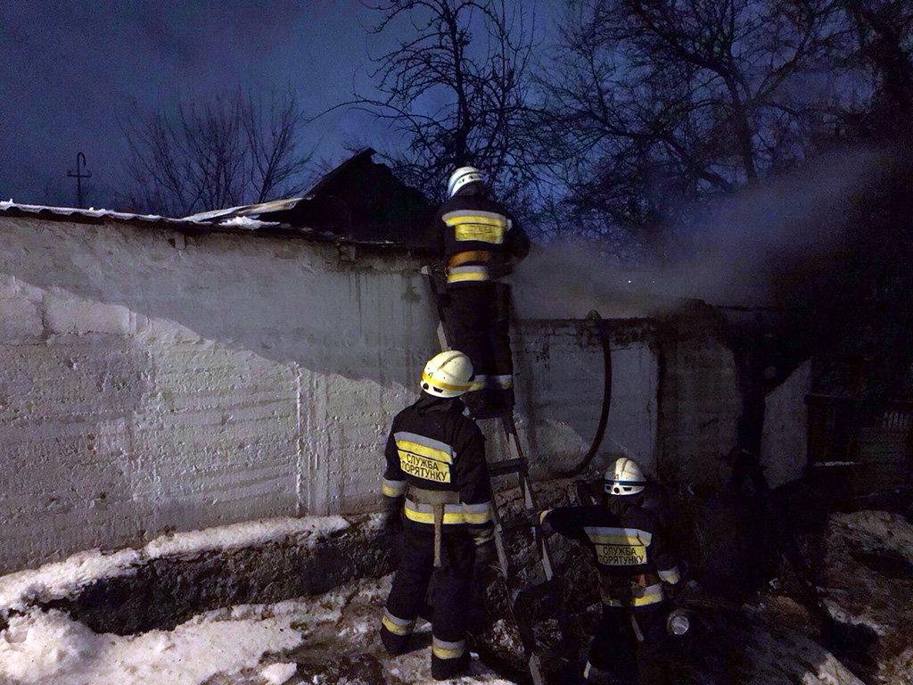В Днепре во время пожара спасли женщину, - ФОТО, фото-1