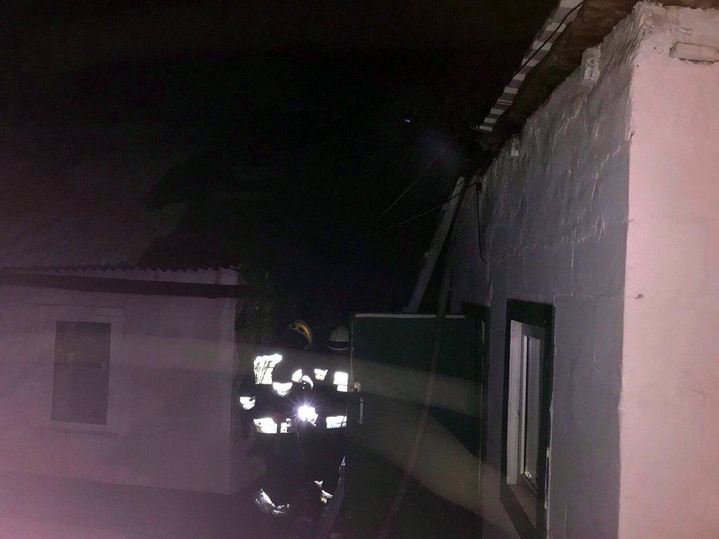 В Днепре во время пожара спасли женщину, - ФОТО, фото-2