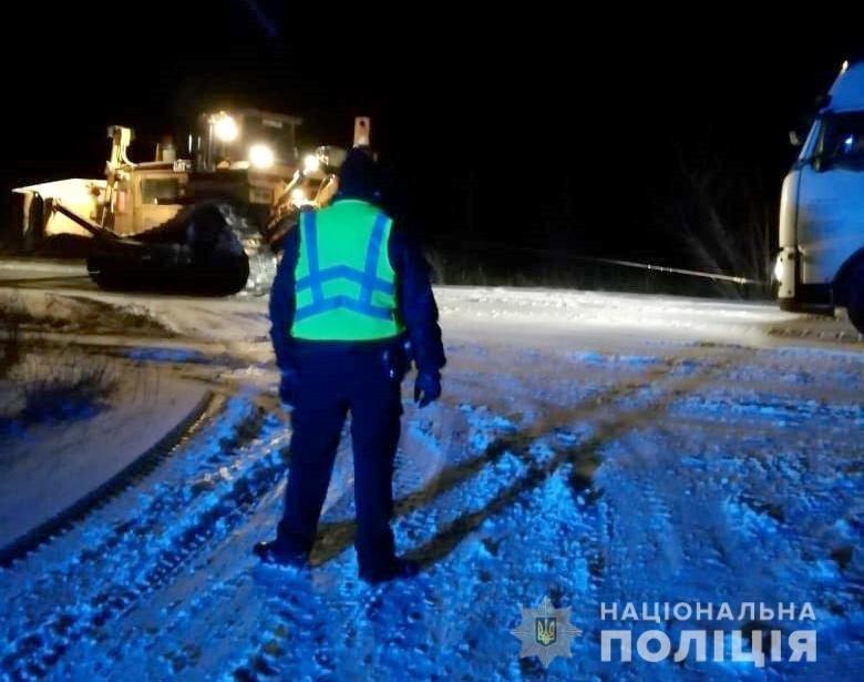 В первый снегопад в Днепропетровской области произошло 17 ДТП с учетом грузовых автомобилей, -ФОТО, фото-2