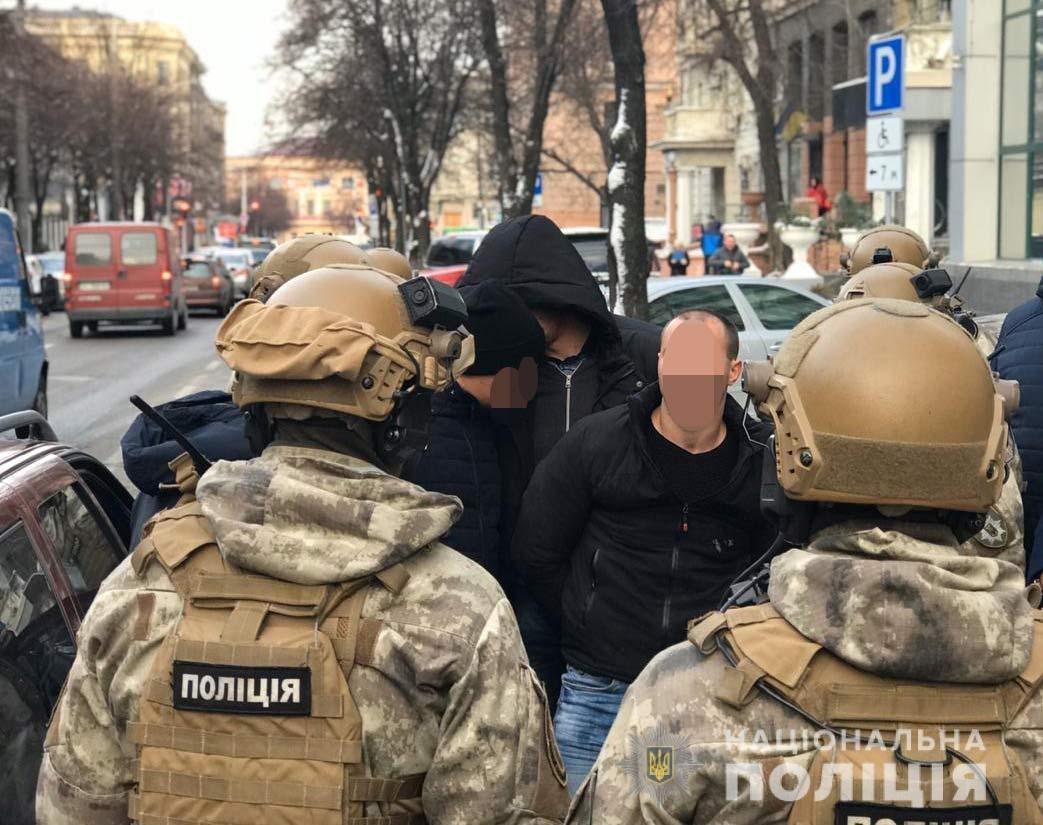 В Днепре спецназовцы задержали вымогателей денег, - ФОТО, ВИДЕО, фото-1