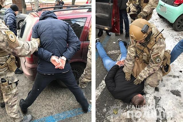 В Днепре спецназовцы задержали вымогателей денег, - ФОТО, ВИДЕО, фото-2