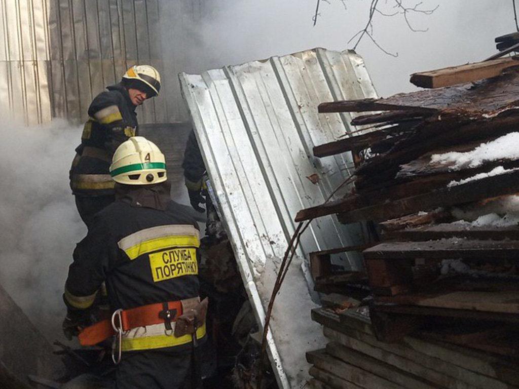 В Днепре ликвидировали пожар на открытом воздухе, фото-1