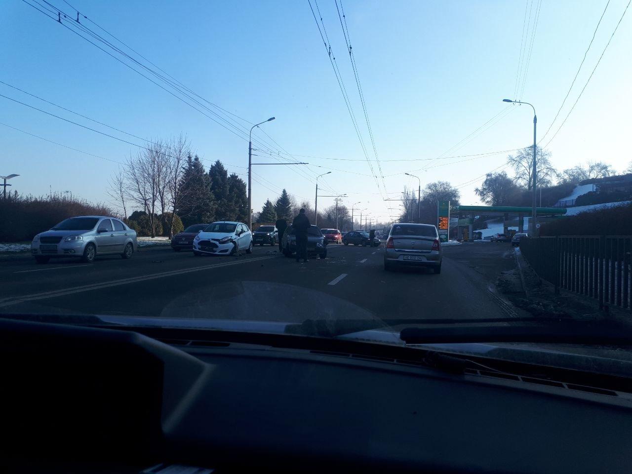 В Днепре ДТП на набережной и возле Озерки: движение затруднено, - ФОТО, фото-2
