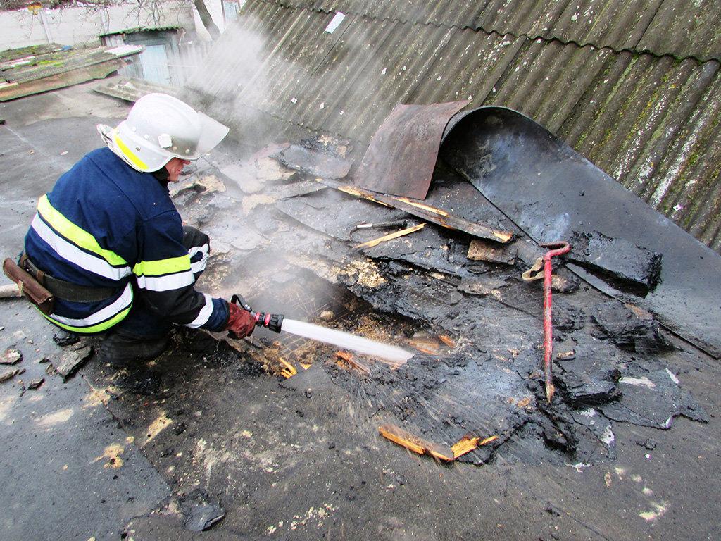На Днепропетровщине пожарники потушили возгорание в частном секторе, - ФОТО, фото-4