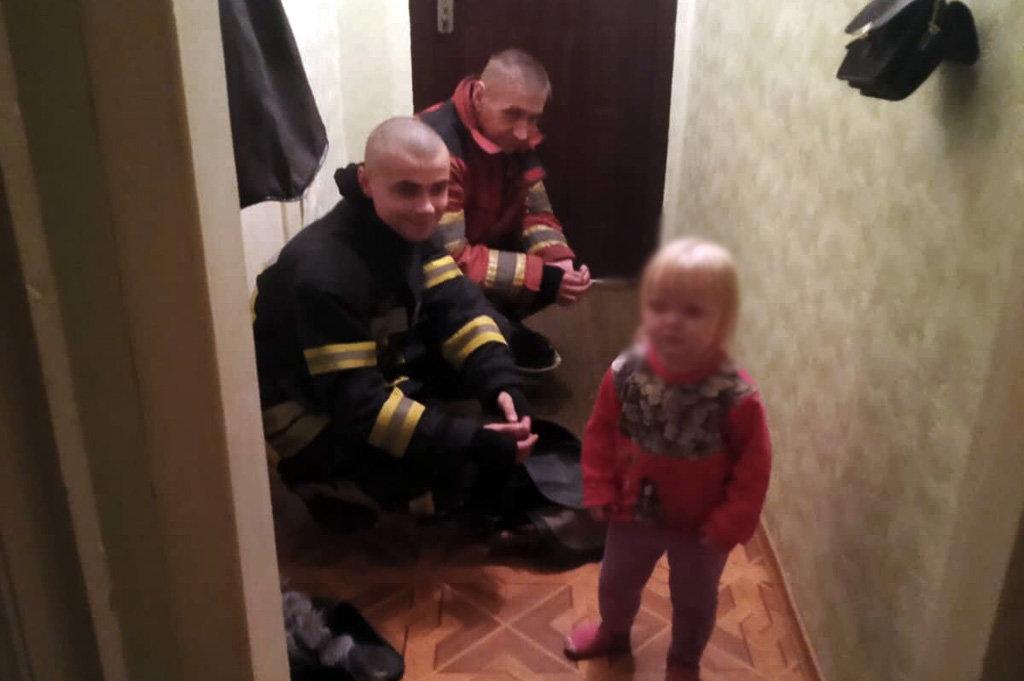 На Днепропетровщине 2-летняя девочка закрылась в квартире, - ФОТО, фото-1
