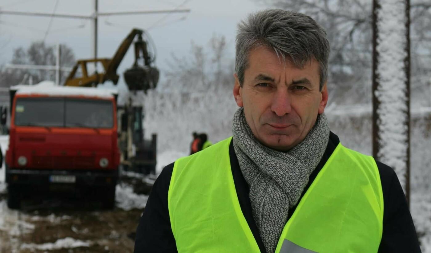 Коммунальщики Днепра капитально отремонтировали трамвайные пути на улице Строителей., фото-2