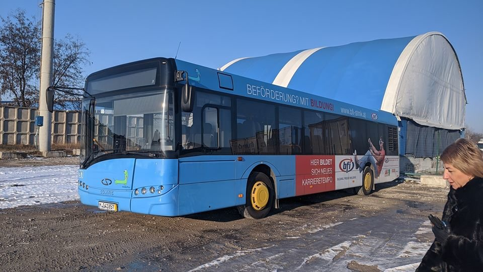 В Днепре на один из маршрутов вышли немецкие вместительные автобусы, - ФОТО, ВИДЕО, фото-3