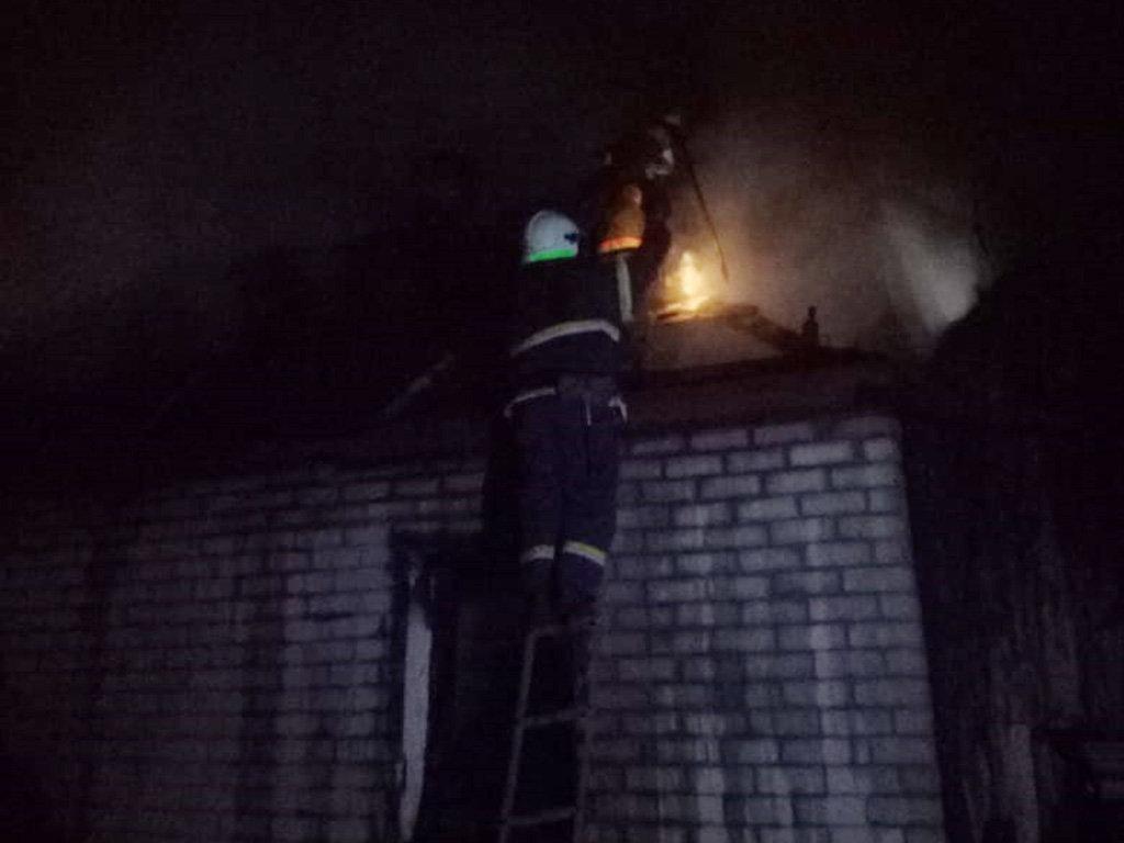 Под Днепром на пожаре погиб мужчина, - ФОТО, фото-1
