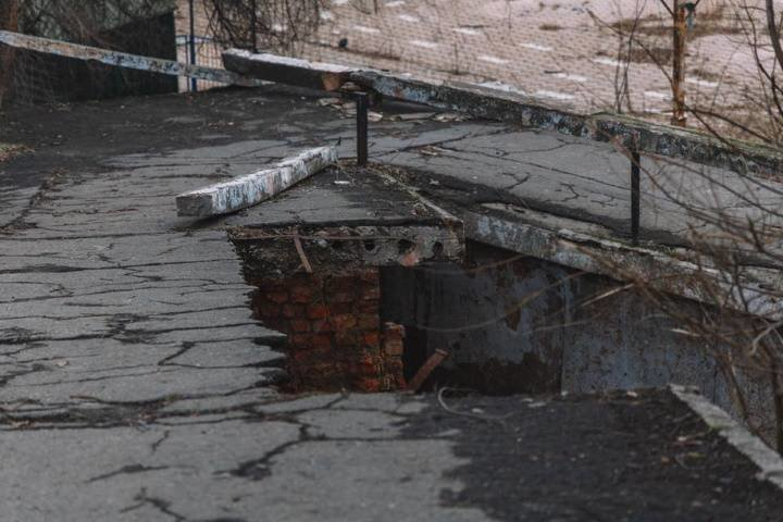 В Днепре в парке Глобы обвалилась часть аварийного моста, - ФОТО, фото-1