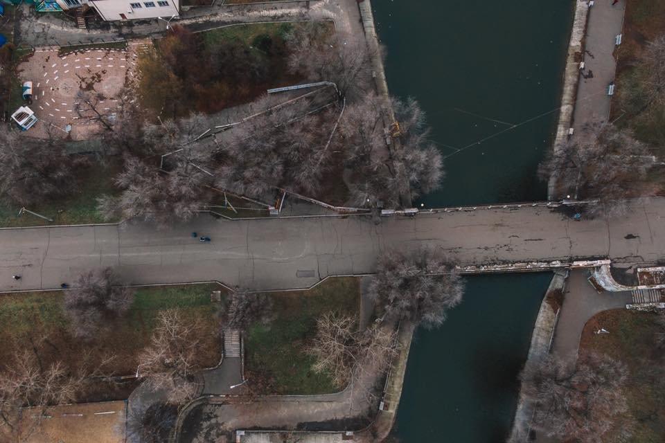 В Днепре в парке Глобы обвалилась часть аварийного моста, - ФОТО, фото-2