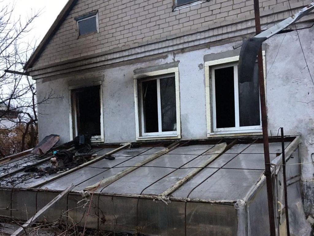 В Днепровском районе на пожаре пострадал мужчина, - ФОТО, фото-2