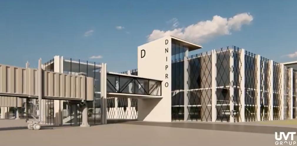 Как будет выглядеть аэродром в Днепре: первый проект дизайна, - ФОТО, ВИДЕО, фото-1