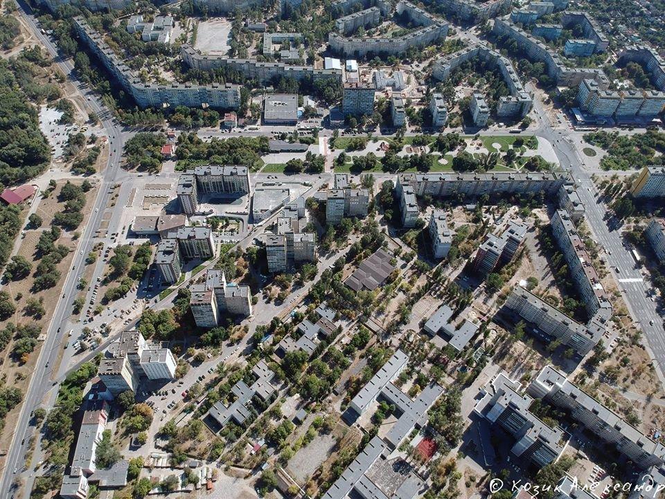 Жилмассив Победа в 3D и с высоты птичьего полета: необычные фото Днепра, фото-6