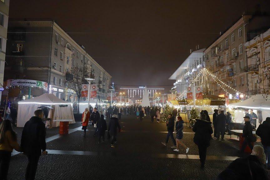 На открытии новогоднего городка и елки в центре Днепра собралось более 6500 горожан, фото-13