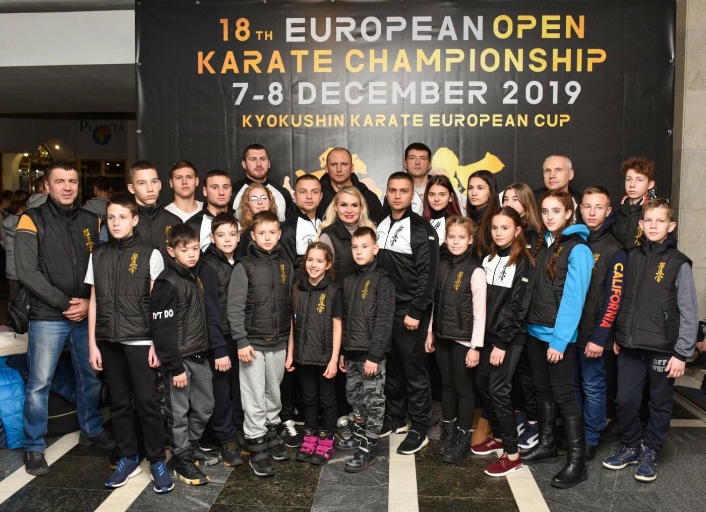 Днепровские спортсмены привезли 15 медалей с Чемпионата Европы по карате, - ФОТО, фото-2